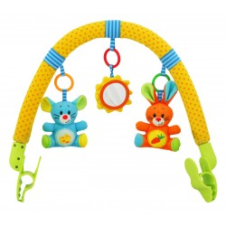 Pushchair toy bar