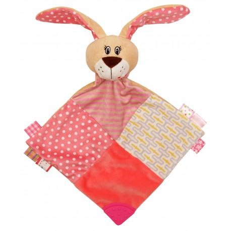 Zabawka pluszowa - chusteczka z gryzakiem