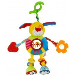 Vibrating travelling toy