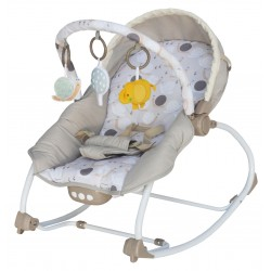 Infant rocking chair with music and vibration