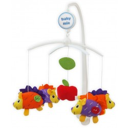 Plush musical mobile