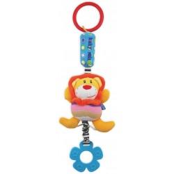 Zabawka podróżna z dzwoneczkiem - Lew