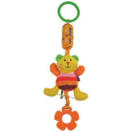 Zabawka podróżna z dzwoneczkiem