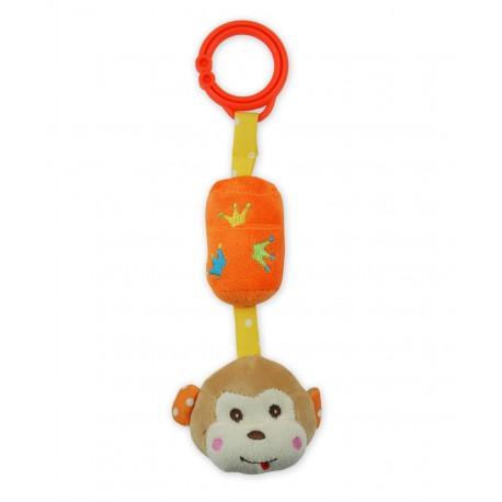 Zabawka podróżna z dzwoneczkiem - Małpka