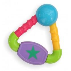 Plastic rattle